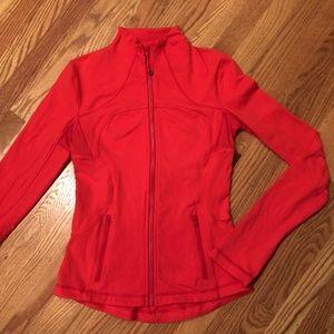 Lululemon Forme Jacket, Love Red